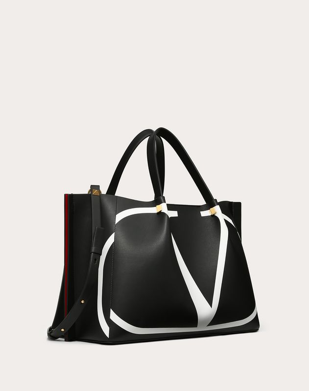 Medium Go Logo Escape Shopper With Inlay Detail