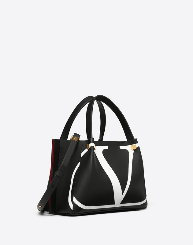 Small Go Logo Escape Shopper With Inlay Detail