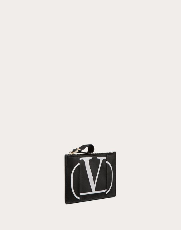 VLOGO Inlaid Coin Purse and Cardholder