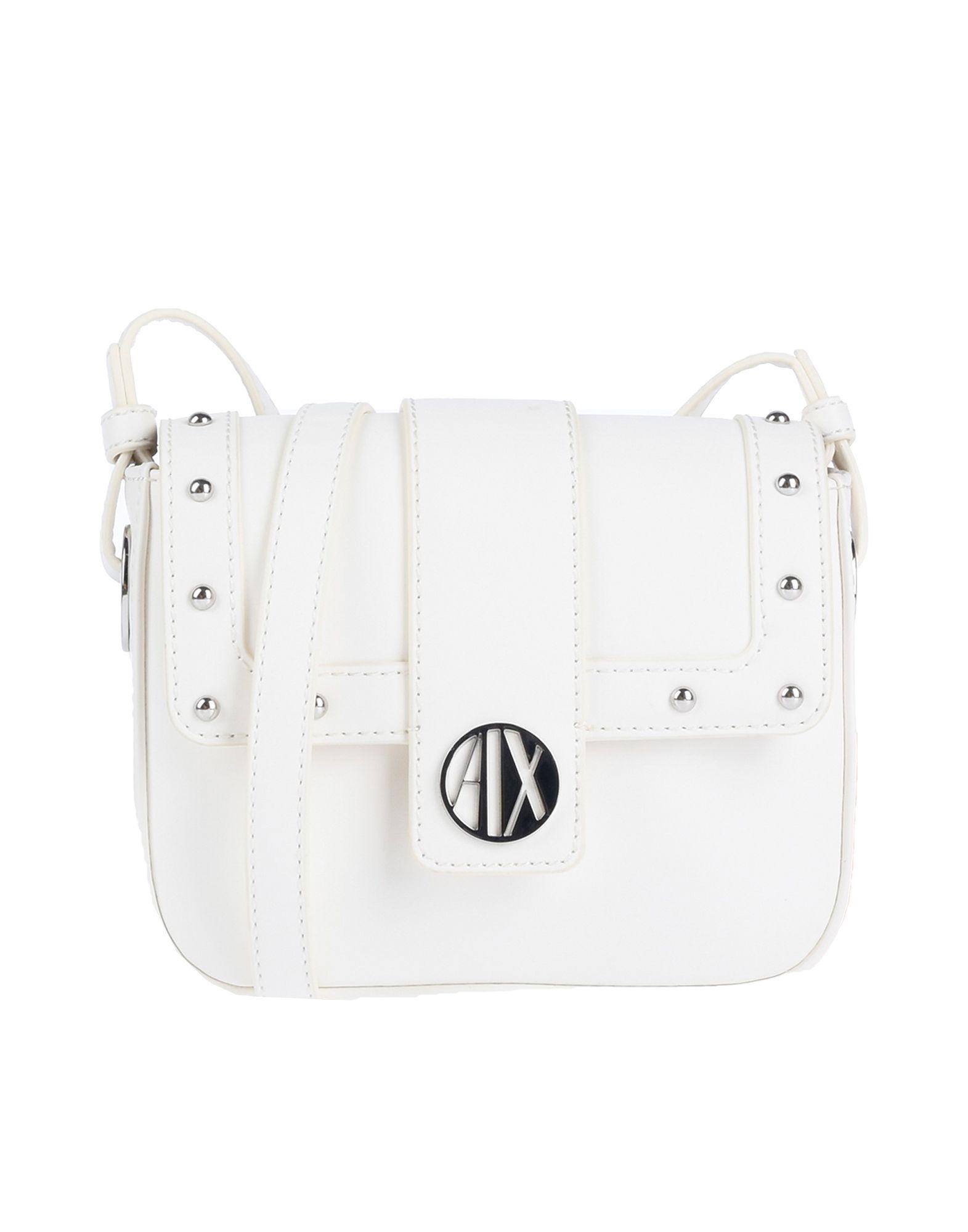 510791007af6 Shop Armani Exchange Handbags In White