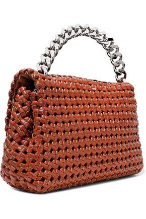 STELLA McCARTNEY Bex woven faux leather shoulder bag efa76dd95360d