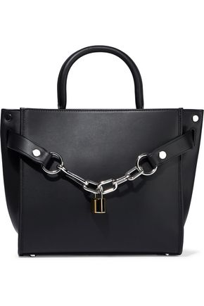 ALEXANDER WANG Attica chain-embellished leather shoulder bag