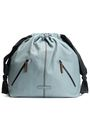 BRUNELLO CUCINELLI Bead-embellished textured-leather backpack