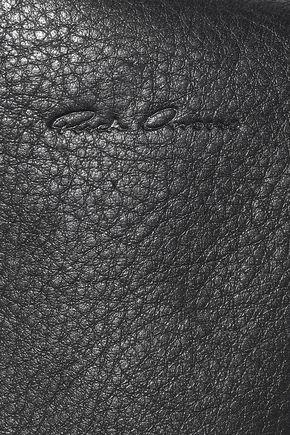 RICK OWENS City textured-leather shoulder bag