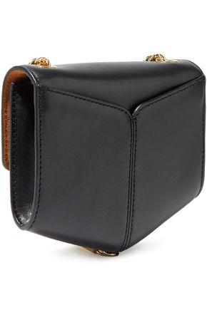SANDRO Lou tasseled leather shoulder bag
