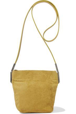 RICK OWENS Adri distressed nubuck shoulder bag