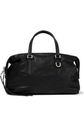 RICK OWENS City brushed-leather shoulder bag
