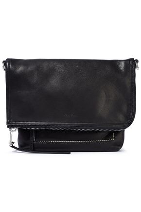 RICK OWENS Pebbled-leather shoulder bag