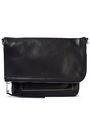 RICK OWENS Pebbled-leather shoulder bag