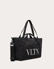 SMALL NYLON VLTN TRAVEL BAG