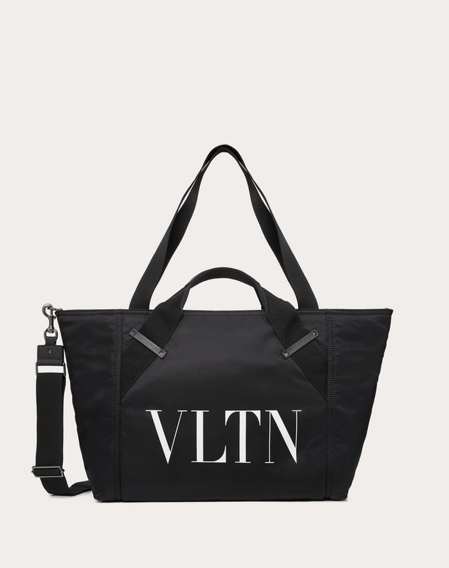 SMALL NYLON VLTN TRAVEL BAG