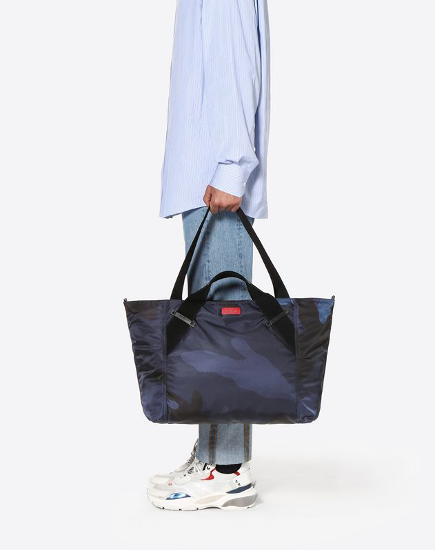 Large Camouflage Travel Bag