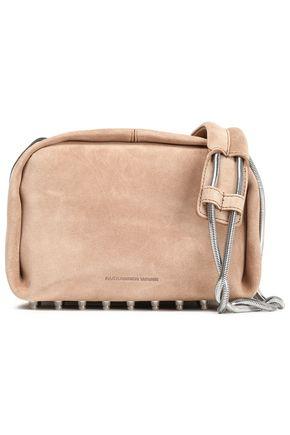 ALEXANDER WANG Studded suede shoulder bag
