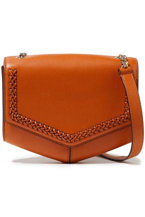 SANDRO Lou leather shoulder bag