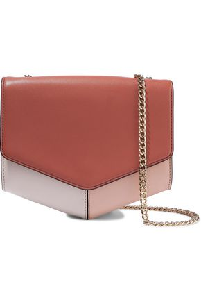 SANDRO Lou leather shoulder bag