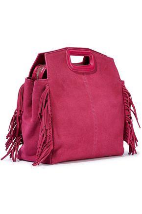 MAJE M Walk fringed suede shoulder bag