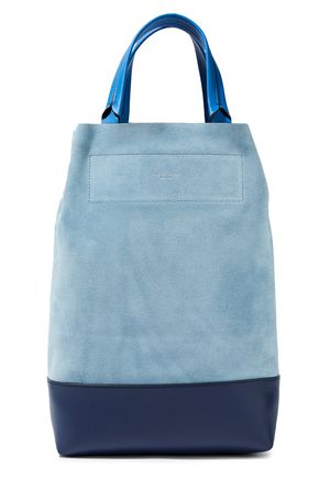 RAG & BONE Walker convertible suede and leather tote
