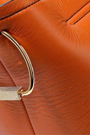 VICTORIA BECKHAM Tissue leather clutch
