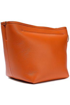 VICTORIA BECKHAM Tissue leather clutch cbcf2afcfb03d