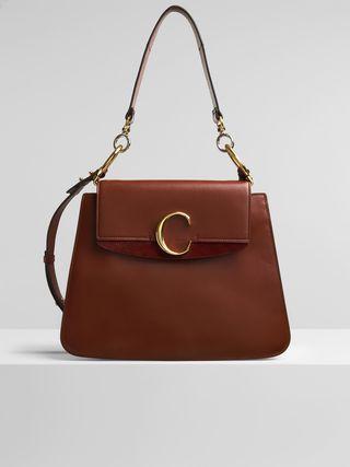 Medium Chloé C shoulder bag