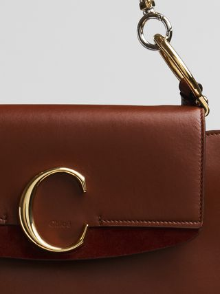 Medium Chloé C shoulder bag