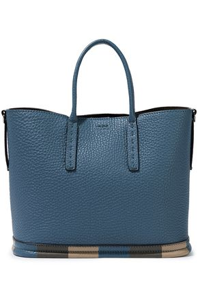 FENDI Pebbled-leather tote