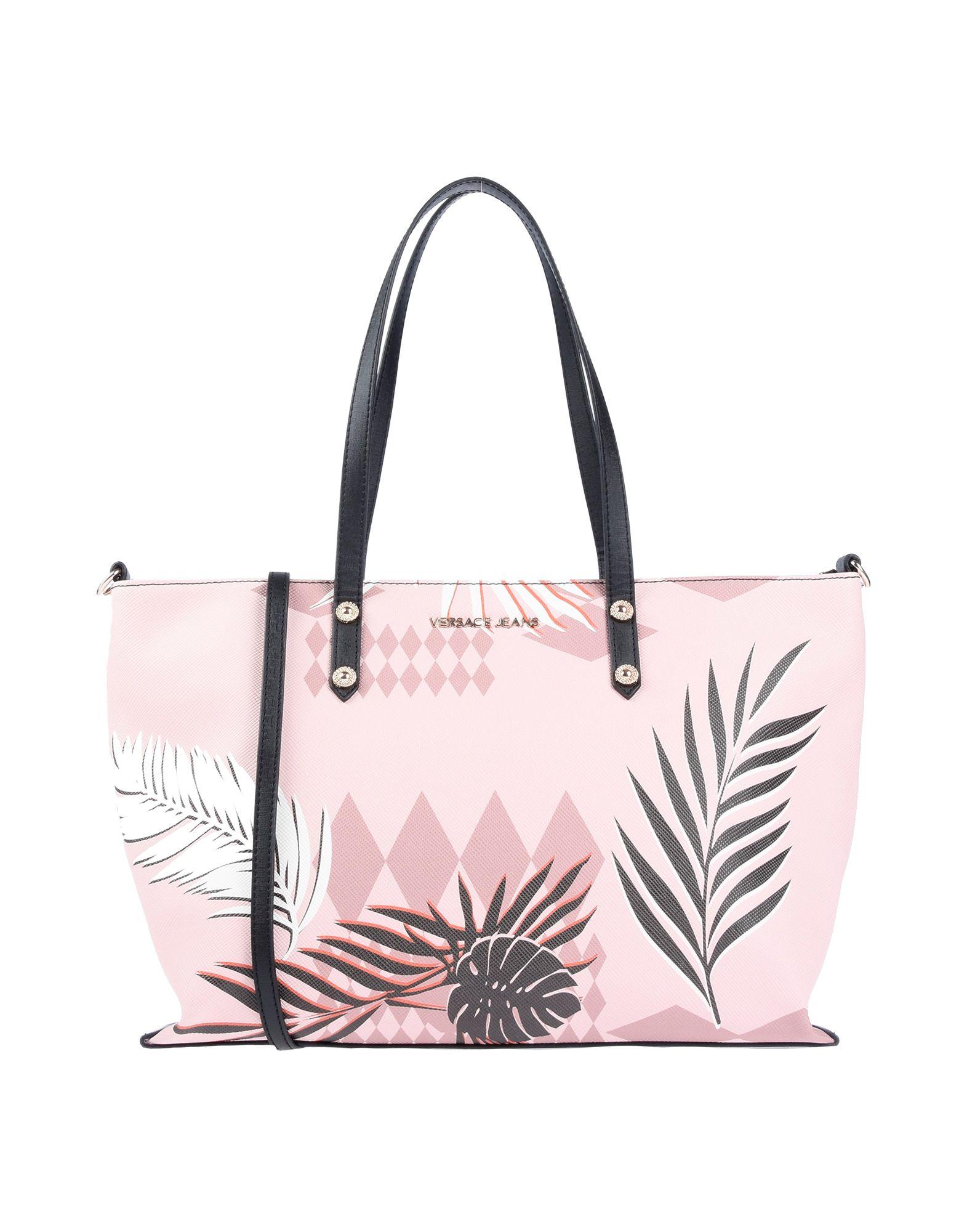 Shop Versace Jeans Handbags In Pink e8a411fae29b5
