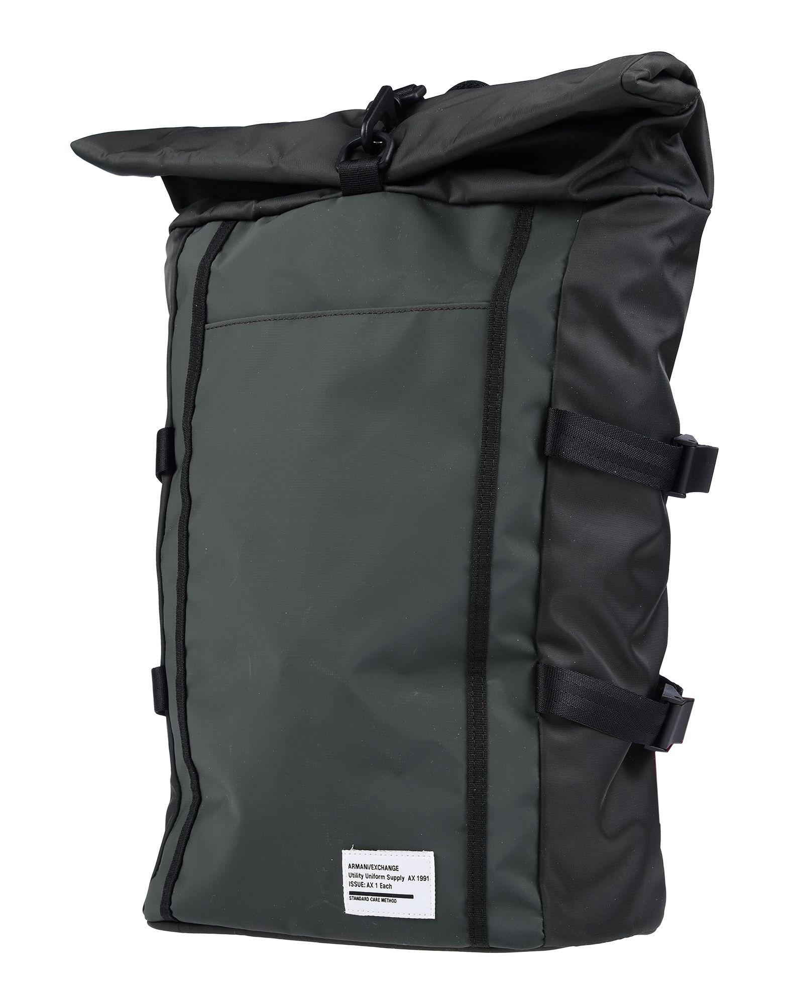 ARMANI EXCHANGE Рюкзаки и сумки на пояс мужские сумки