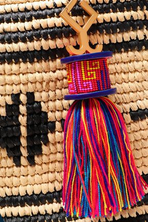 YOSUZI Kashi straw tote