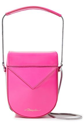 3.1 PHILLIP LIM Soleil glossed-leather shoulder bag