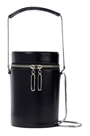 3.1 PHILLIP LIM Soleil glossed-leather bucket bag 0a27b53bbb62f