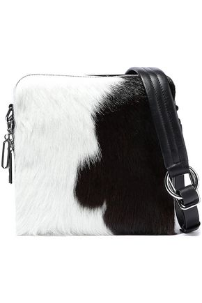 3.1 PHILLIP LIM Hudson Square calf-hair and leather shoulder bag