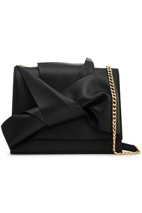Knotted Leather Shoulder Bag by N°21