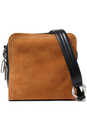 3.1 PHILLIP LIM Hudson Square suede and leather shoulder bag