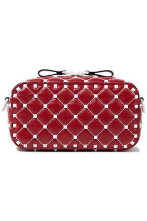 900a081a16d VALENTINO GARAVANI Free Rockstud Spike quilted leather shoulder bag