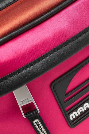 MARC JACOBS Color-block satin belt bag