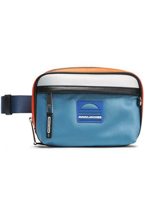 MARC JACOBS Color-block satin belt bag