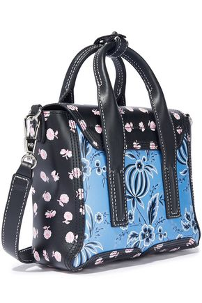 3.1 PHILLIP LIM Pashli mini floral-print leather shoulder bag