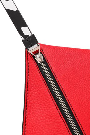 PROENZA SCHOULER Textured-leather clutch