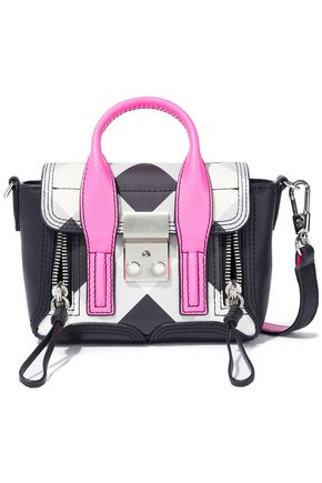 3.1 PHILLIP LIM Pashli nano checked leather shoulder bag