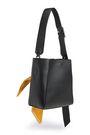 CALVIN KLEIN 205W39NYC Embellished leather shoulder bag