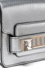 PROENZA SCHOULER PS11 metallic textured-leather shoulder bag