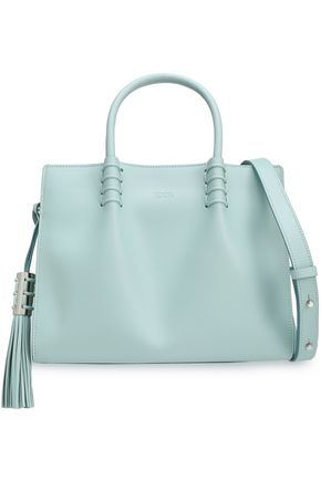 TOD'S Tasseled leather shoulder bag