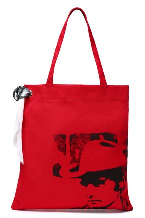 CALVIN KLEIN 205W39NYC Printed canvas tote