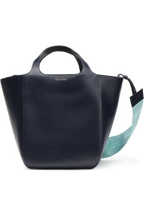 GIORGIO ARMANI Leather tote