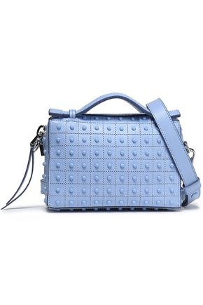 TOD'S Embellished leather shoulder bag