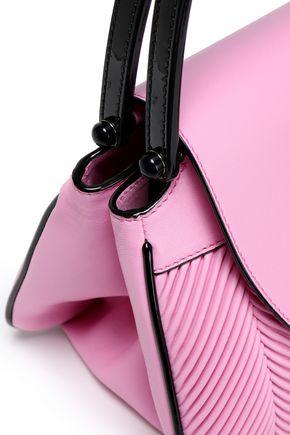 GIORGIO ARMANI Pleated leather tote