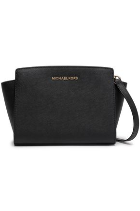 MICHAEL KORS Textured-leather shoulder bag