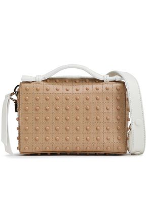 c7ccb212e60ac Studded leather shoulder bag | TOD'S | Sale up to 70% off | THE OUTNET