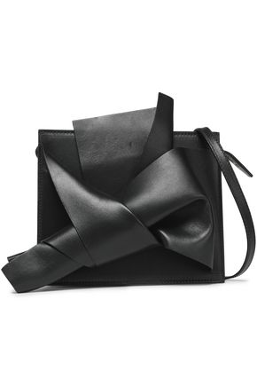 N°21 Knotted leather shoulder bag